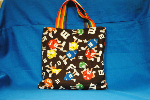 Crayon Tote Bag - M & M's - Millers Wood & Fabric Crafts