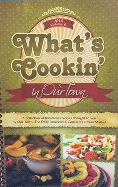 What's Cookin' Volume 9,  2016 - Our Town/Daily American Cookbooks