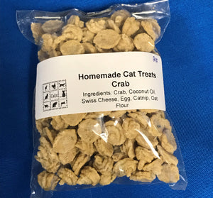 New Products!! Crab Homemade Cat Treats - TBK Luvs Homemade Fesh Pet Treats & Pet Toys