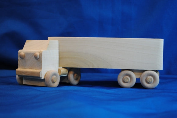 18 Wheel Open Box Truck - Millers Wood & Fabric Crafts