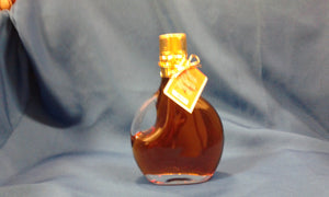 Maple Syrup in Glass Basque 250 ML made by Baer Brothers Maple