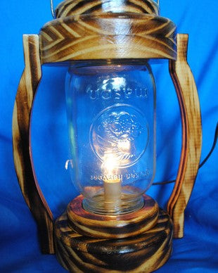 Mason Jar Lantern - Millers Wood & Fabric Crafts