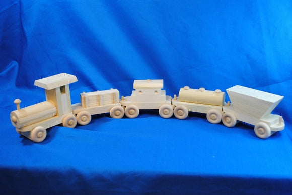 Steam Train - Millers Wood & Fabric Crafts