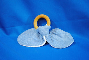 Organic Teething Ring - Millers Wood & Fabric Crafts