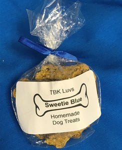 New Products!! Sweetie Blue Homemade Dog Treats - TBK Luvs Homemade Fresh Pet Treats & Pet Toys