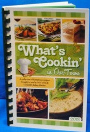 Whats Cookin' Volume 6 , 2013- Our Town/Daily American Cookbooks