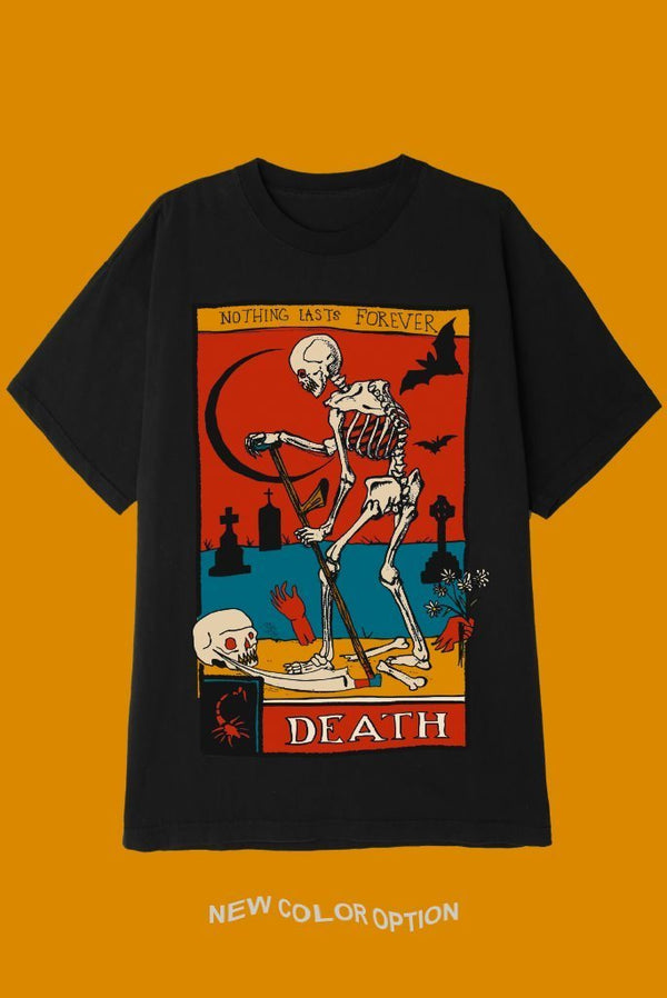 DEATH TAROT CARD T-Shirts DTG