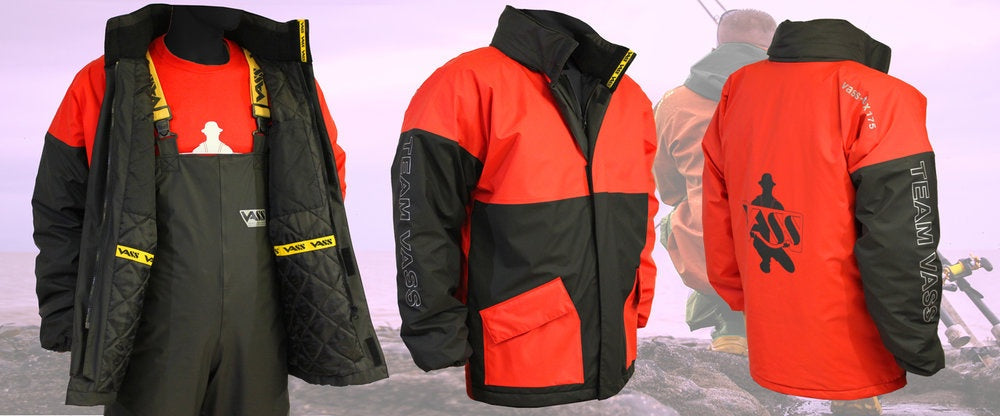 Team Vass 175 Winter Lined Jacket Red/Black