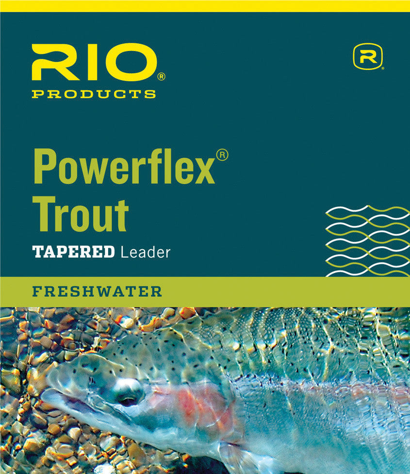 Rio Trout Powerflex Tapered Leader 9ft