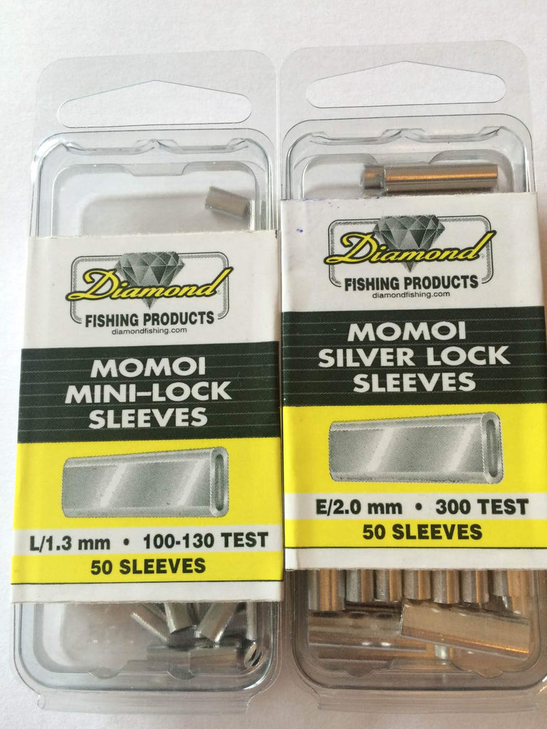 Momoi Diamond Silver and Mini Lock Aluminium Sleeves