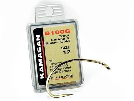 Kamasan B100G - Trout and Shrimp Buzzer Gold