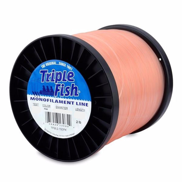 Triple Fish Mono Line Light Pink