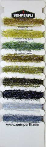 Semperfli Straggle String Mixed Pack Naturals Collection