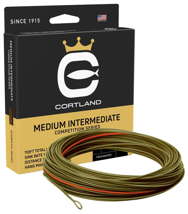 Cortland Competition Series Medium Intermediate Fly Line