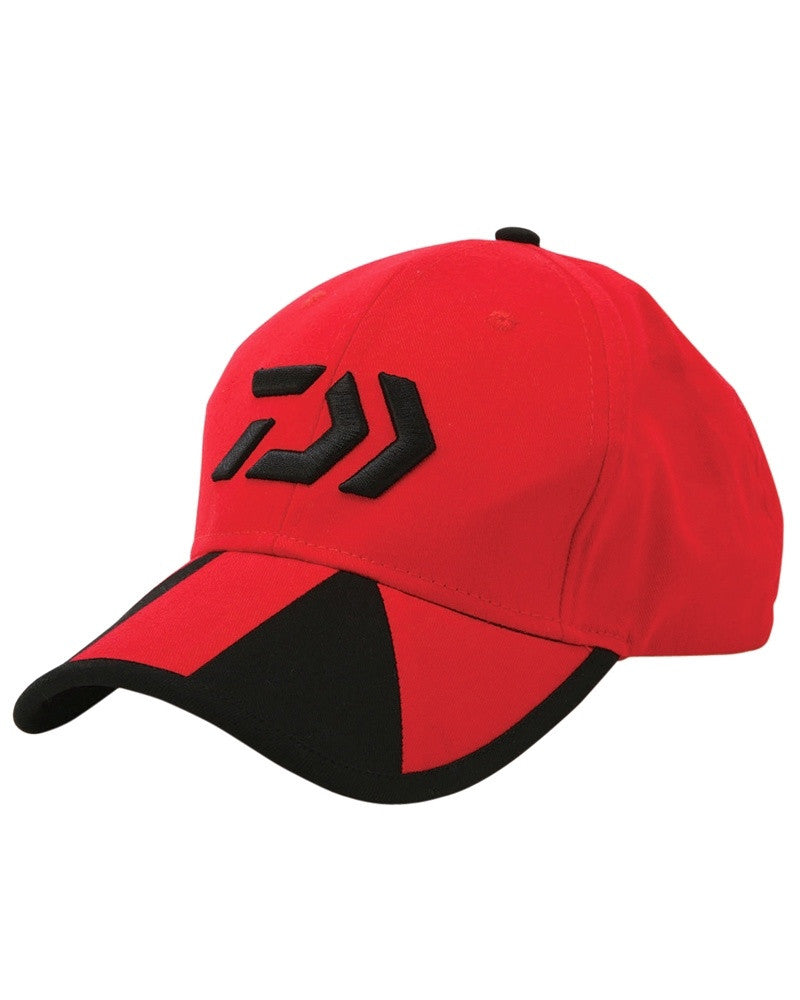 Daiwa Cap Red/Black Twin Beam