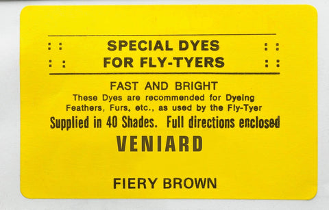 Veniard Special Dyes for Fly-Tyers