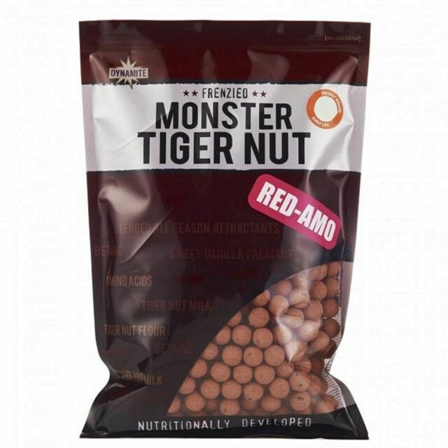 Dynamite Monster Tiger Nut Red-Amo Boilies