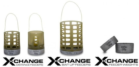 Guru X-Change Feeders & Weights