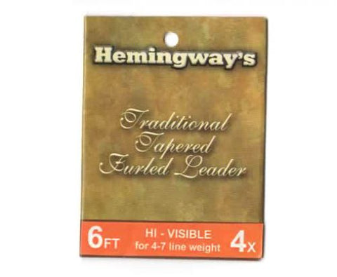 Hemingways Tapered Hand Woven Furled Leader