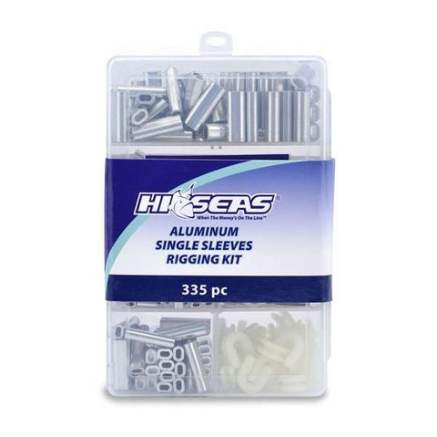 Hi-Seas Aluminum Single Sleeves Rigging Kit