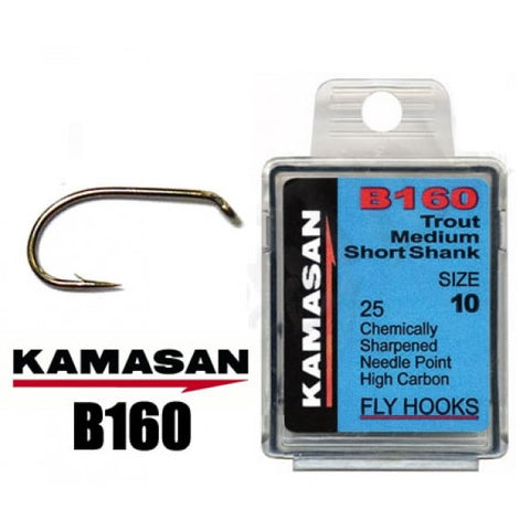 Kamasan B160 - Trout Medium Short Shank