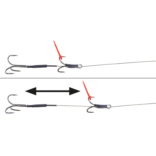 TRONIX TRACE WIRE+CRIMPS FOR GAME SEA COARSE FISHING PIKE SNAP TACKLE LINE MONO