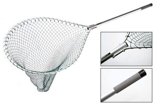 McLean Silver Series Folding Hinged Handle Large Net