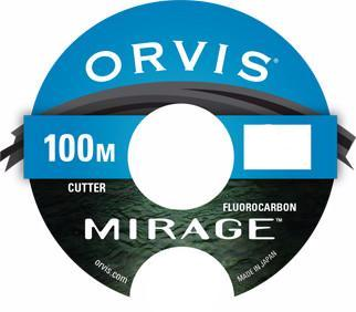 Orvis Mirage Fluorocarbon Tippet Leader 100m
