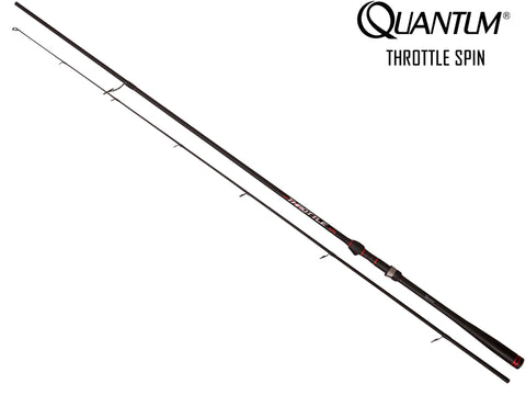 Quantum Throttle Spin Rod