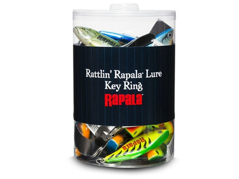 Rapala Rattlin' Rapala Lure Key Ring