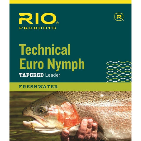 Rio Technical Euro Nymph Tapered Leader