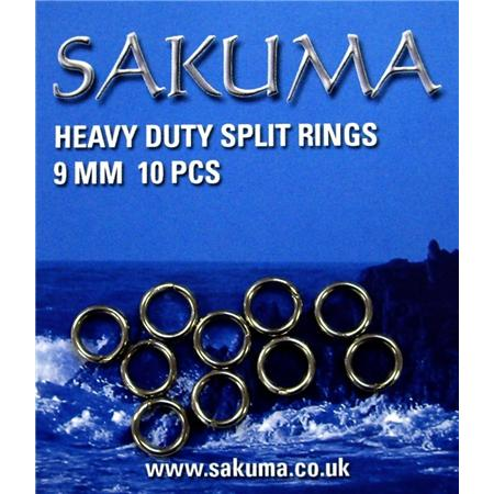 Sakuma Heavy Duty Split Rings