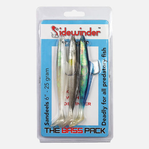 Sidewinder 'The Bass Pack' Sandeels