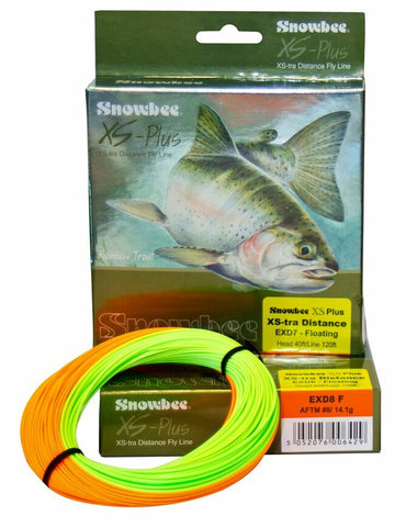 Snowbee XS-Plus XS-tra Distance Floating Fly Line