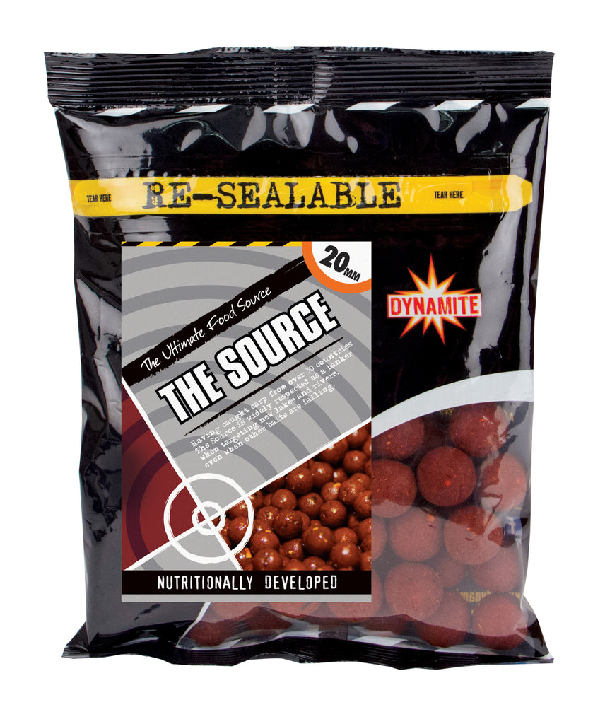 Dynamite The Source Shelf Life Boilies 5kg 15mm