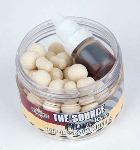 Dynamite The Source White Fluoro Pop-Ups & Dumbells