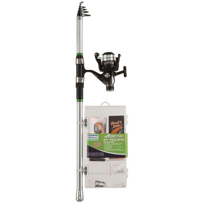 Shakespeare Catch More Fish 8ft Tele Spin Kit