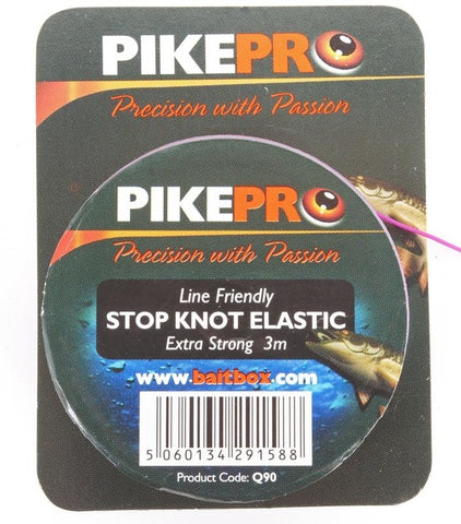 Pike Pro Stop Knot Elastic