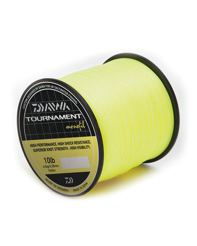 Daiwa Tournament Monofilament Line Bulk Yellow