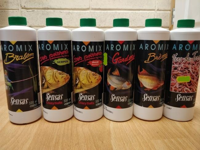 Sensas Aromix Liquid Additive 500ml