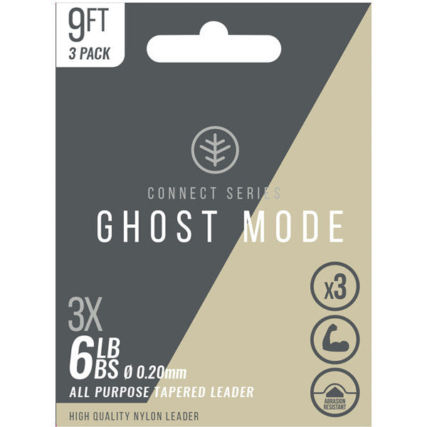 Wychwood Ghost Mode Tapered Fly Fishing Leaders