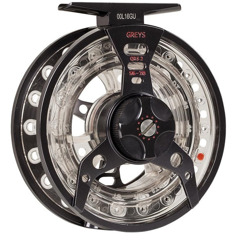 Greys QRS Fly Reel Back