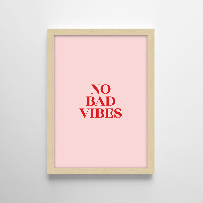 Frases - No bad vibes