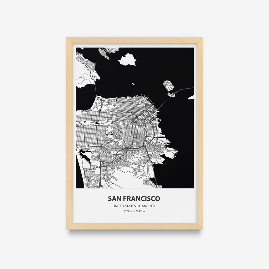 Mapas - San Francisco