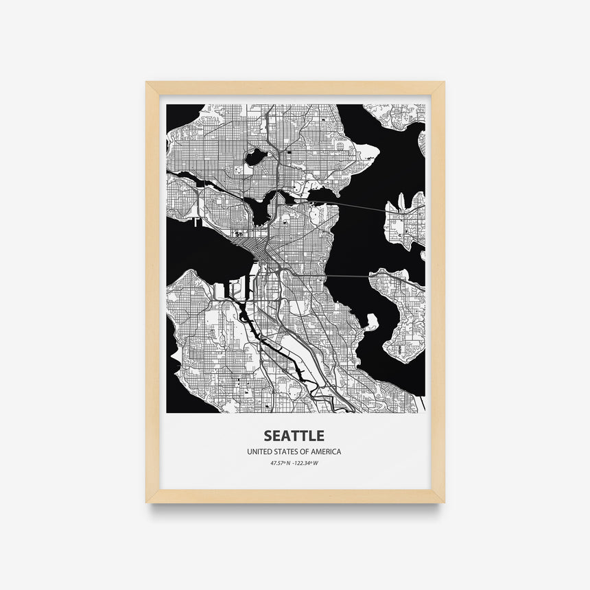 Mapas - Seattle