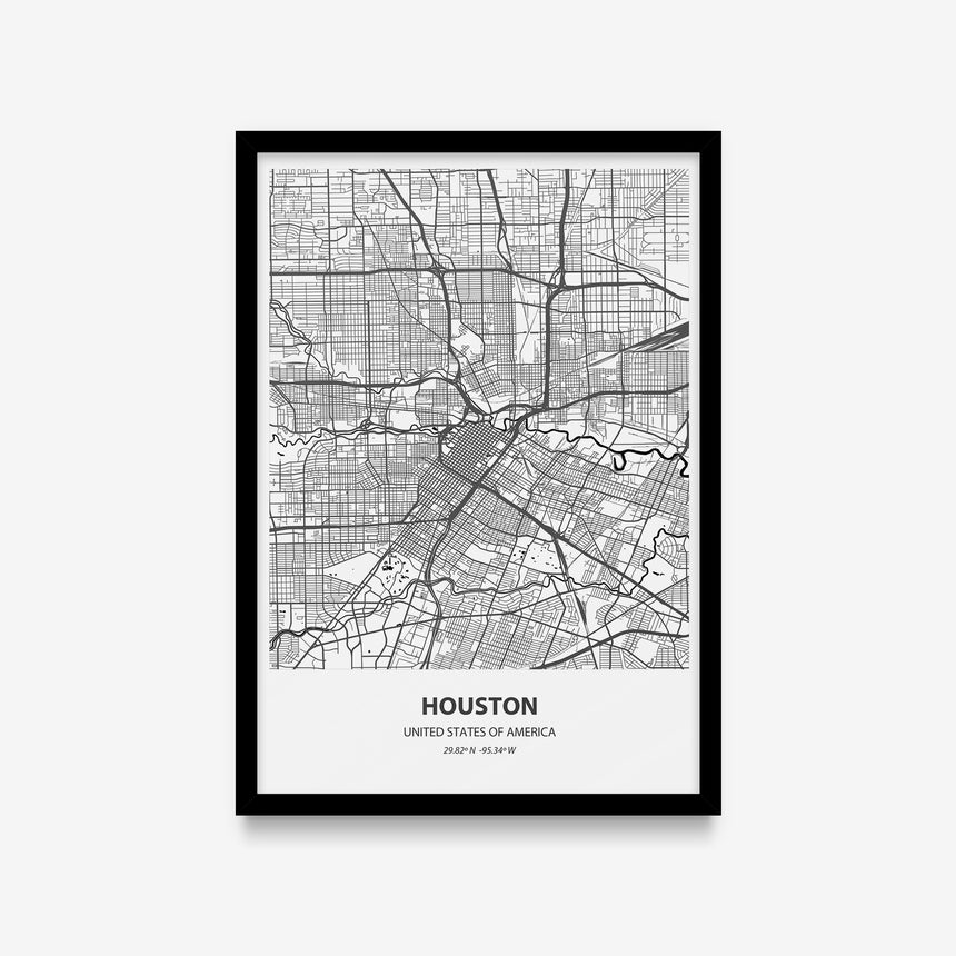 Mapas - Houston