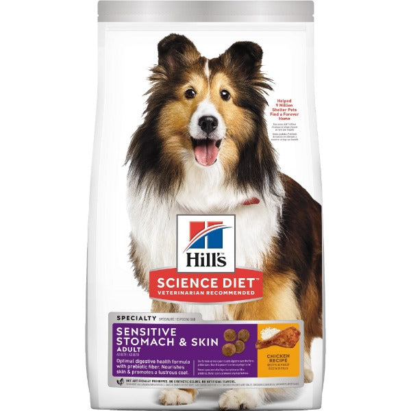 Science Diet Canine Adult Sensitive Stomach & Skin, 30lb-Food Center-Hill's Science Diet-30 lb-Petland Canada