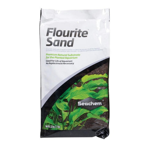 Seachem Flourite Sand; available in 2 colours-Substrate-Seachem-Natural-Petland Canada