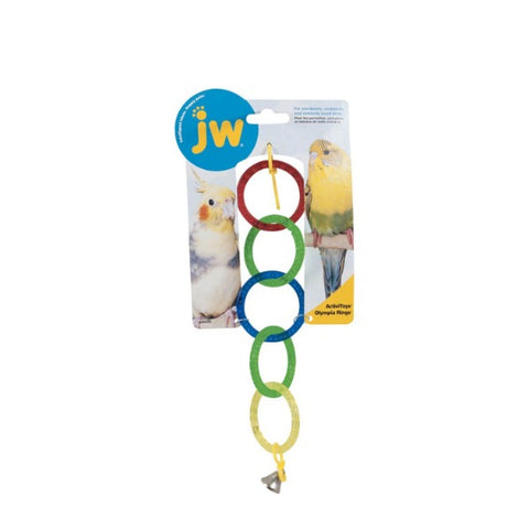 JW Activitoys Olympia Rings Bird Toy