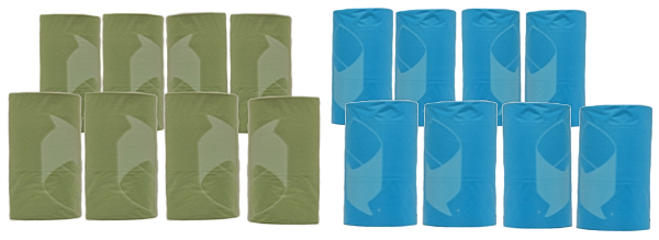 Good Dog Waste Bags; Available in 3 sizes-Outdoor-Good Dog-16 Rolls - 240 Bags-Petland Canada